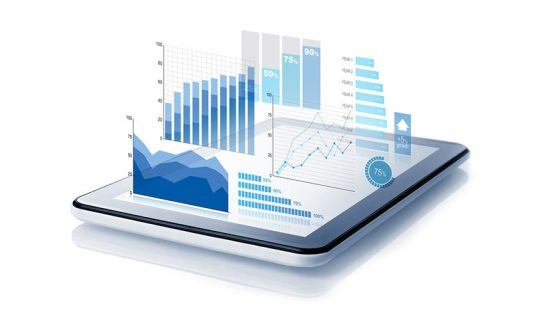 business intelligence comes to life on a tablet