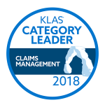 KLAS Category Leader Claims Management 2018