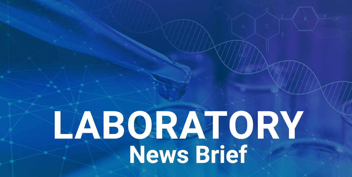 Laboratory News Brief – August 2020